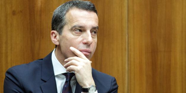 Österreichs neuer Bundeskanzler Christian Kern
