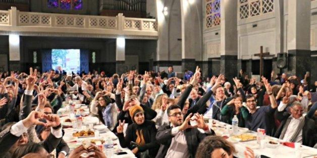 A Molenbeek, des musulmans invités à prendre le ftour dans une église
