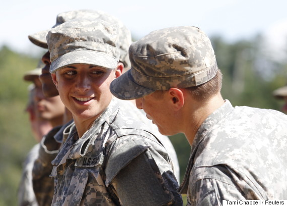 us army woman