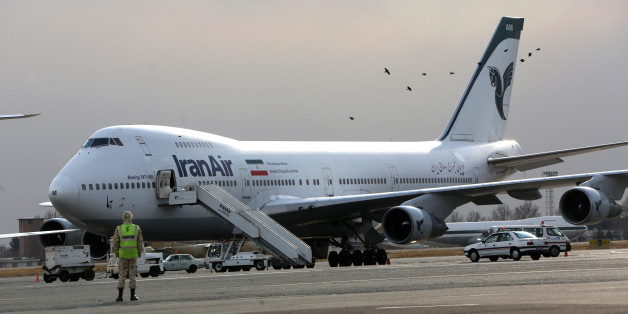 An Iran Air Boeing 747 passenger plane sits on the tarmac of the domestic Mehrabad airport in the Iranian capital Tehran on January 15, 2013. Austrian Airlines said the previous day that it has stopped its flights to Tehran because they were not profitable any more in a decision that comes after the subsidiary of German carrier Lufthansa had already in November cut the number of weekly flights from Vienna to the Iranian capital to three. AFP PHOTO/BEHROUZ MEHRI
