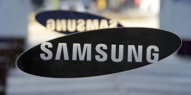 FILE-In this Jan. 8, 2015, file photo, a logo of Samsung Electronics is seen at its showroom in Seoul, South Korea. Samsung Electronics said Thursday, June 16, 2016, that it has agreed to buy a U.S. cloud service startup Joyent Inc. as it seeks to boost software and internet services. (AP Photo/Lee Jin-man. File)
