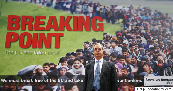 nigel farage poster