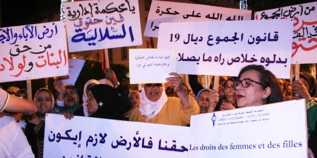 A Rabat, les femmes manifestent pour l'égalité des sexes