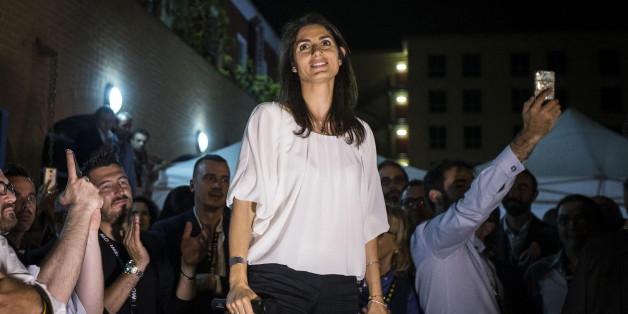 Wahl-Erfolg von Virginia Raggi: Rom hat erstmals eine Bürgermeisterin