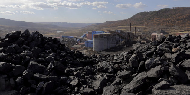 A general view shows Pinggang coal mine from the state-owned Longmay Group on the outskirts of Jixi, in Heilongjiang province, China, October 24, 2015. To match story CHINA-COAL/JIXI     Picture taken on October 24, 2015. REUTERS/Jason Lee