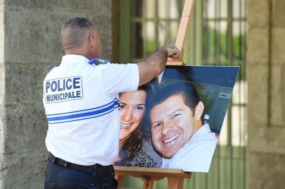 pezenas hommage policier