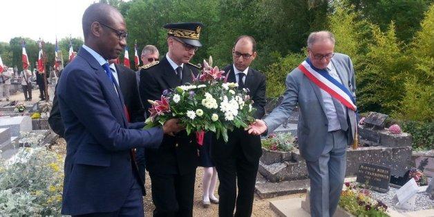 Une commune française reconstitue la tombe d'un soldat marocain mort pour la France