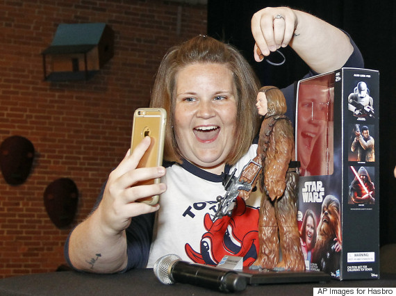 chewbacca mom figure