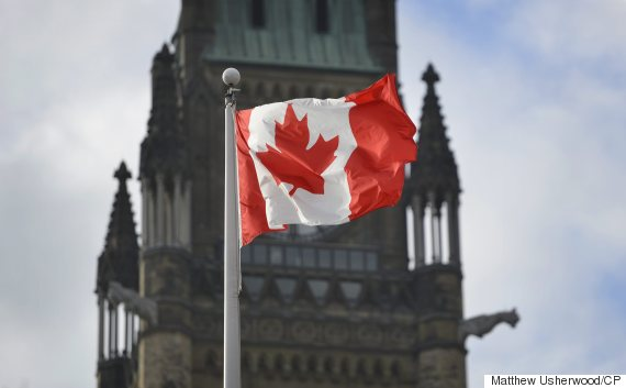 parliament hill flag