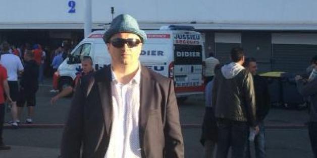 Diese Foto vor dem Stadion in Toulouse postete Alexander Schprygin auf Twitter