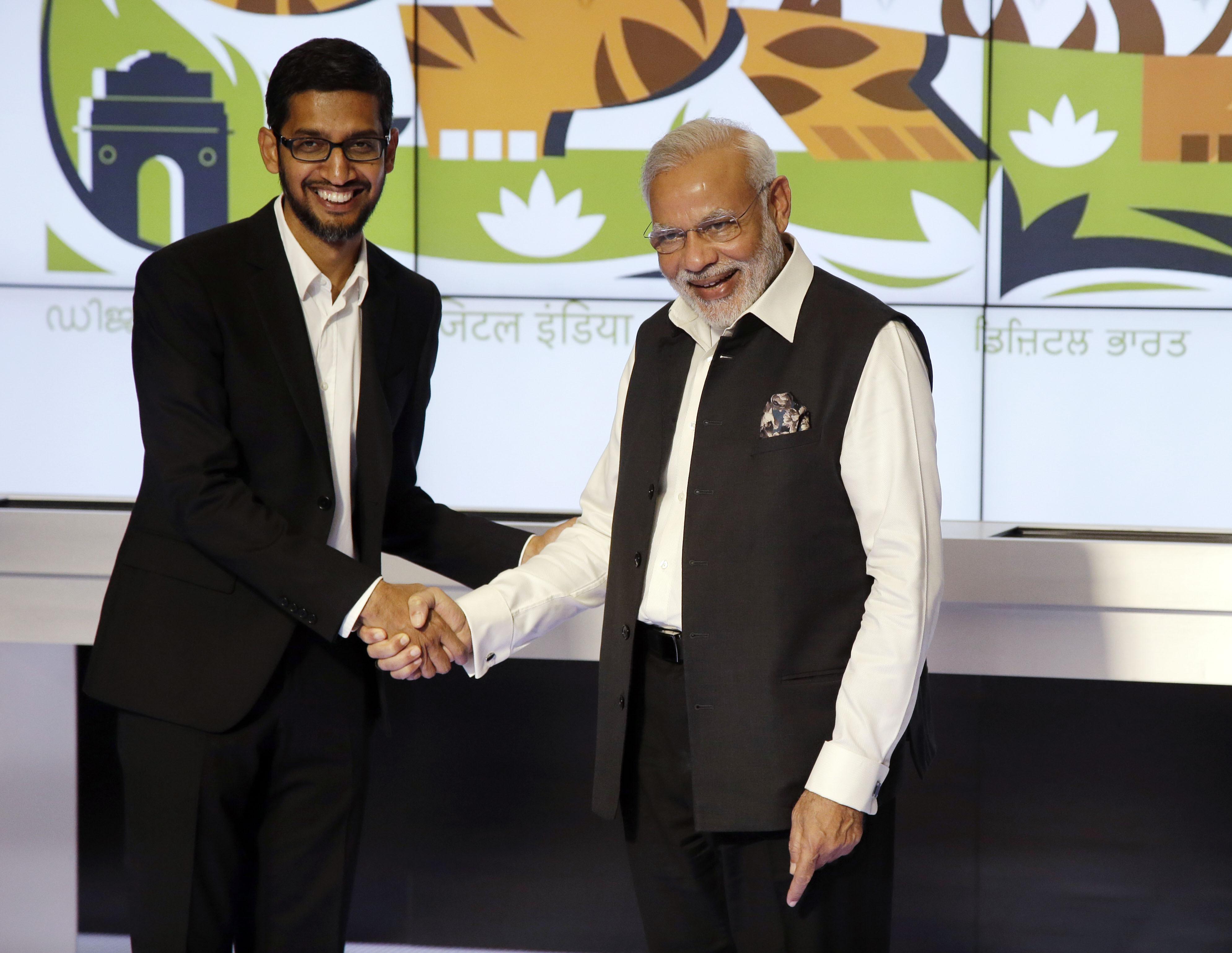 narendra modi google