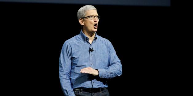 No! Appel (hier: CEO Tim Cook) ist gegen ein Waffen-Emoji