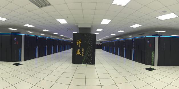 """Der """"Sunway TaihuLight"""" ist der leistungsstärkste Supercomputer der Welt - und er kommt aus China"""