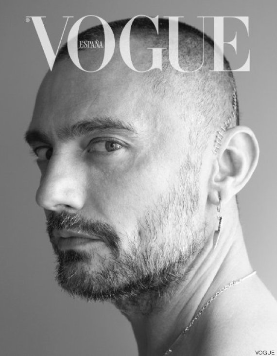 david delfin cicatriz vogue