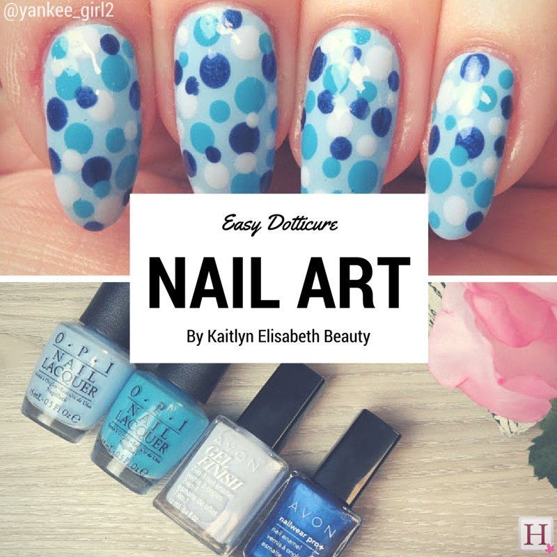 Nail Art A Dotticure Design Thats Fun And Easy For Summer