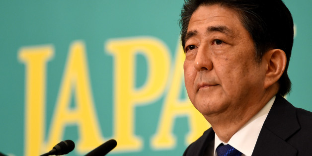 Japanese Prime Minister and ruling Liberal Democratic Party leader Shinzo Abe listens to a question during a debate with eight other party leaders at the Japan National Press Club in Tokyo on June 21, 2016.Japan holds upper house parliamentary elections in July and Abe's time in office ends in September 2018, unless his party approves an exceptional measure to extend his leadership. / AFP / TOSHIFUMI KITAMURA        (Photo credit should read TOSHIFUMI KITAMURA/AFP/Getty Images)