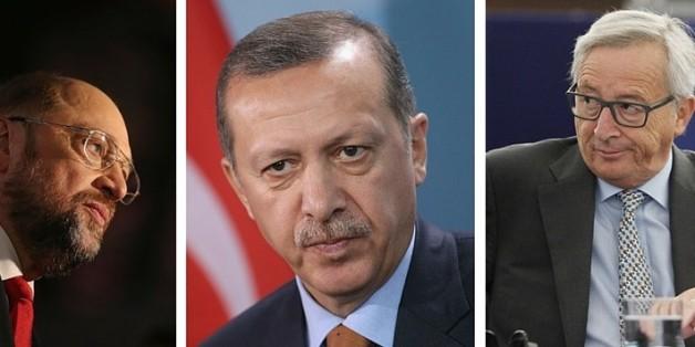 Diese Warnung von Juncker zeigt, wie machtlos Europa gegenüber Erdogan ist
