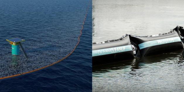 Le projet du Néerlandais The Ocean cleanup