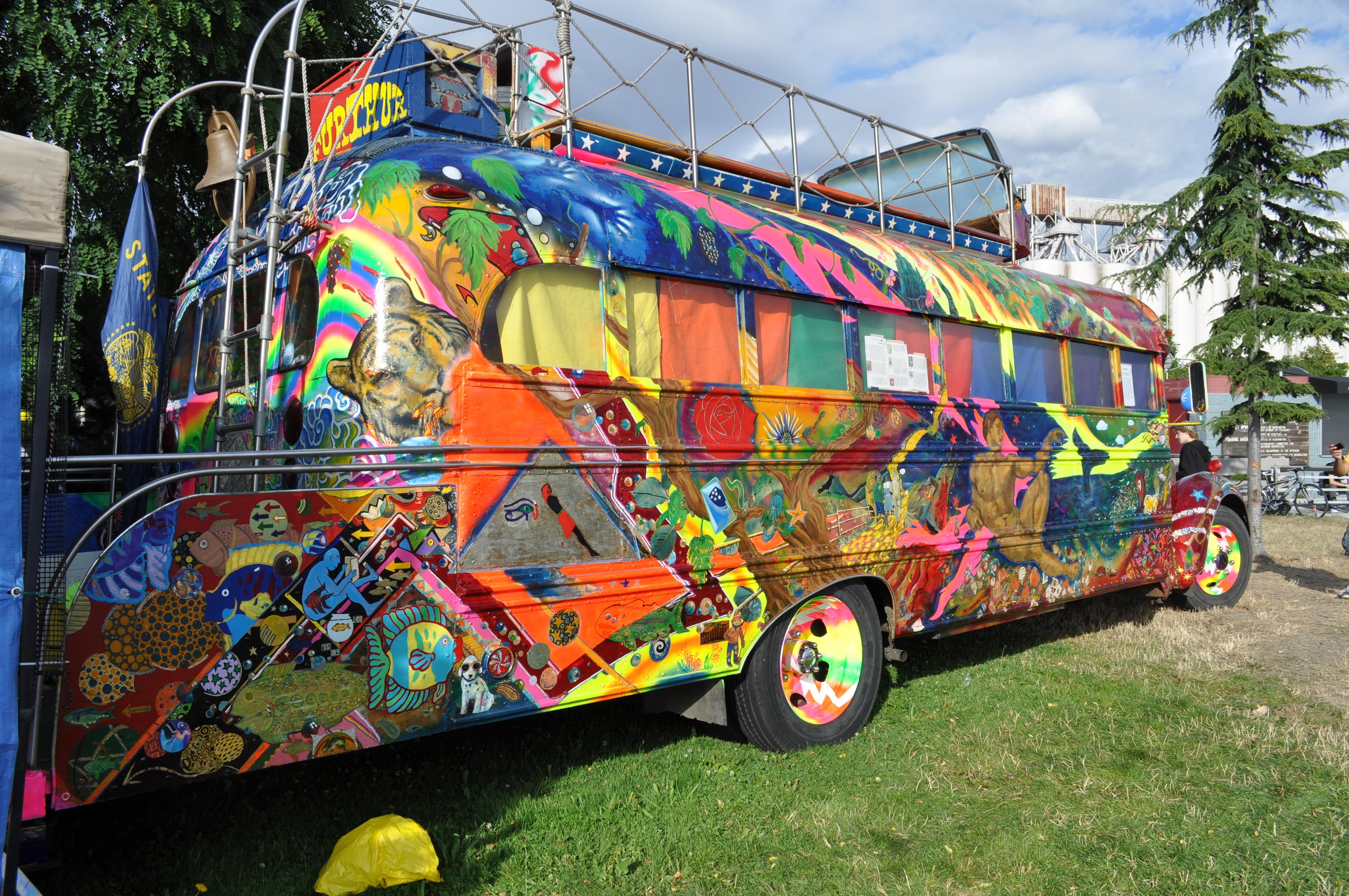 ken kesey merry pranksters bus