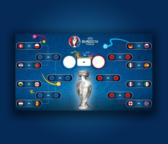 tableau euro 2016 phase finale