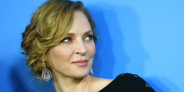 Schauspielerin Uma Thurman ist vom Pferd gefallen