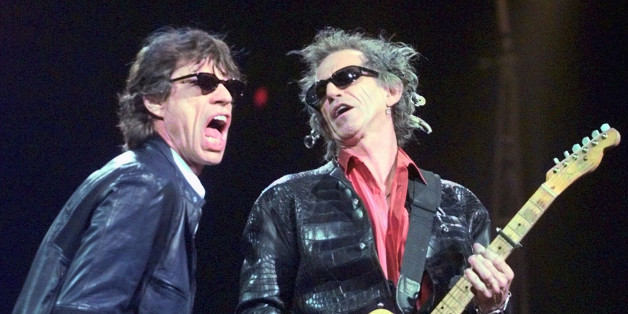 """FILE - In this Monday, March 22, 1999, file photo, Mick Jagger, left, and Keith Richards perform """"Jumping Jack Flash"""" during the Rolling Stones' No Security Tour performance at the Fleet Center in Boston. A second weekend had been added to the classic rock festival starring the Rolling Stones, Bob Dylan and Paul McCartney in October. Festival organizers for Desert Trip said Monday, May 9, 2016, that the icons, along with Neil Young, Roger Waters and the Who, will perform Oct. 14-16 along with Oc"""