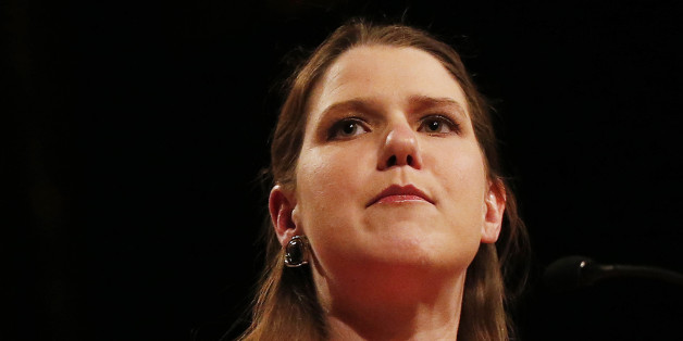 Britain's Liberal Democrat Minister for Women and Equalities, Jo Swinson, gives her keynote speech on the second day of the party's spring conference in Liverpool, northern England, March 14, 2015.  REUTERS/Phil Noble   (BRITAIN - Tags: POLITICS)