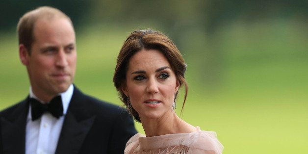 Photo by: KGC-375STAR MAX/IPx 6/22/16 Prince William and Catherine, Duchess of Cambridge attend a gala dinner in support of East Anglia's Children's Hospices' nook appeal at Houghton Hall on June 22, 2016 in King's Lynn, England.