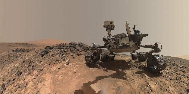 Der Mars-Rover Curiosity hat Tridymit gefunden