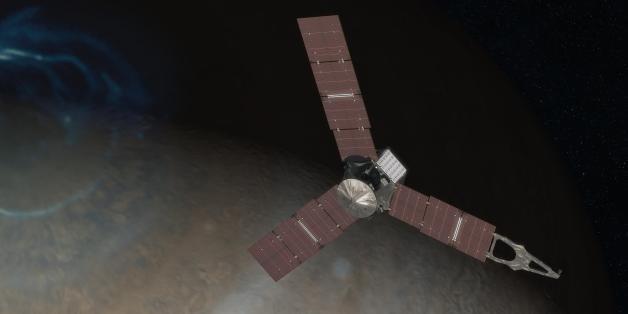 La sonde Juno est enfin arrivée en orbite de Jupiter