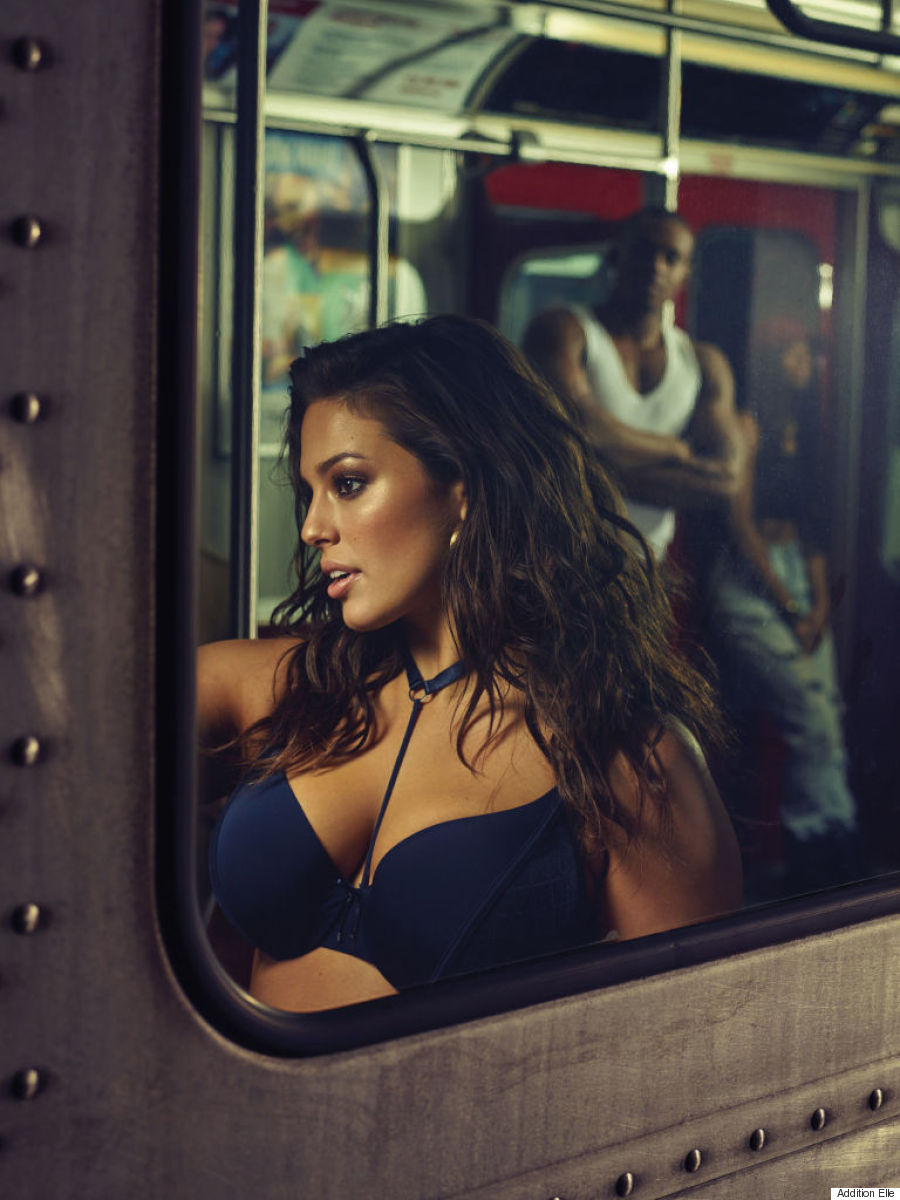 ashley graham addition elle