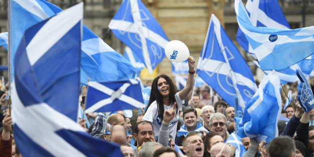 Ein Referendum über die Unabhängigkeit Schottlands scheiterte 2014