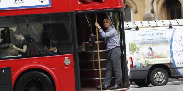 People travel by bus in central London, June 23, 2016. REUTERS/Stefan Wermuth