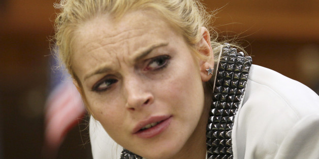 Lindsay Lohan überrascht mit politischen Twitter-Marathon.