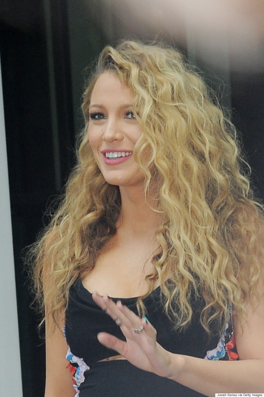 Blake Livelys Big Curls Are What 80s Hair Dreams Are Made Of