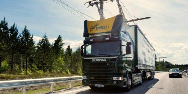 Genialer Plan: In Schweden sollen Lkw bald elektrisch fahren