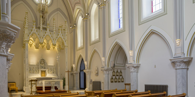 Canada, Quebec province, Montreal, The Carmel of Montreal dedicated to Our Lady of Mount Carmel is a monastic convent complex occupied by the Carmelites since its construction in 1896, the chapel is open to visitors