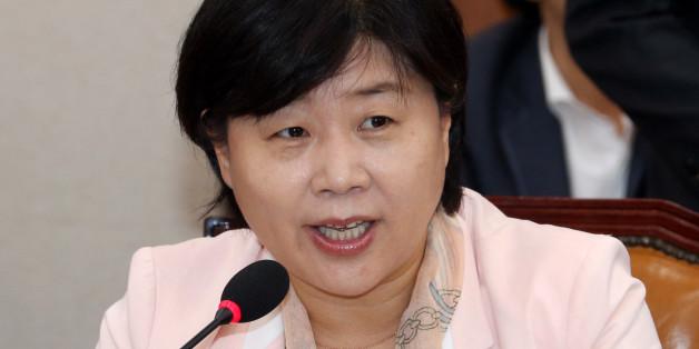 지난 20일 국회 법사위 회의에서 인사말을 하는 서영교 의원