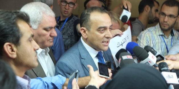 Chafaa Bouaiche, chef du groupe parlementaire du FFS, et Ali Laskri