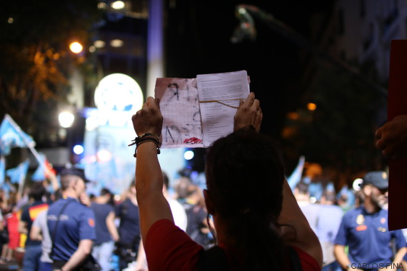 manifestantes pp
