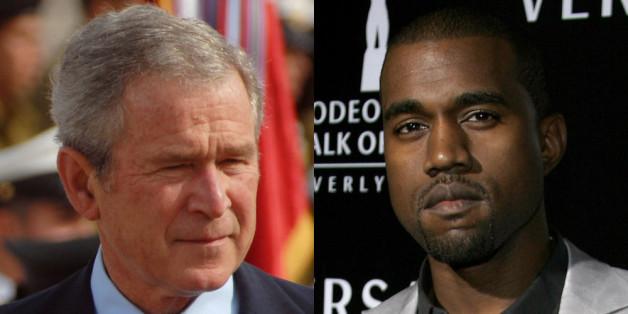 """George W. Bush gegen Kanye West: Im Video zum Song """"Famous"""" wird der Ex-US-Präsident nackt dargestellt"""