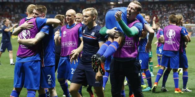 EM-Sensation: Island schmeißt England aus dem Turnier