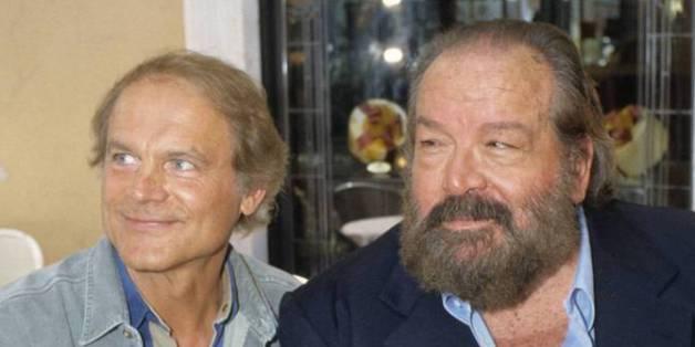 Mehr als Schauspielkollegen: Terence Hill (l.) trauert um Bud Spencer