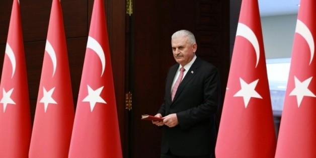 Le Premier ministre turc Binali Yildirim à Ankara le 27 juin 2016