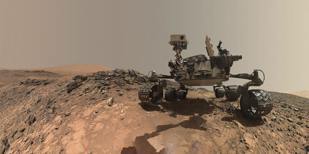Der Mars-Rover der Nasa, Curiosity, hat Manganoxid gefunden - ein wichtiger Hinweis auf Sauerstoff