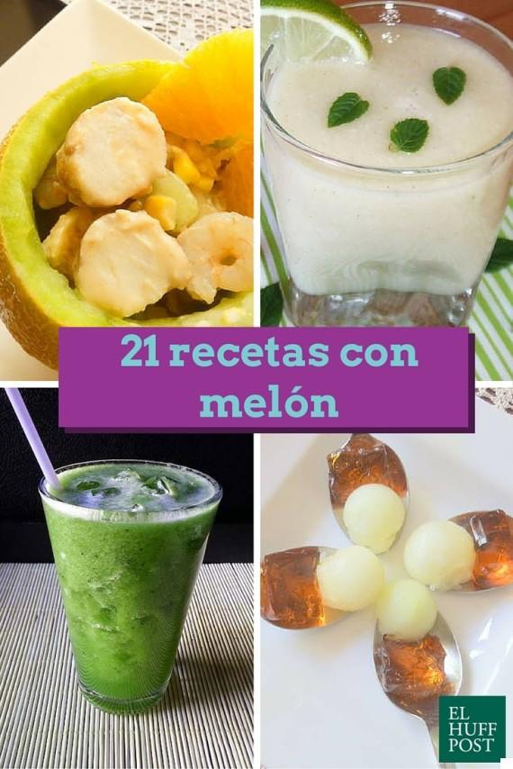 recetas melón
