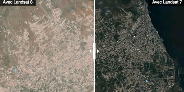 google map satellite maroc