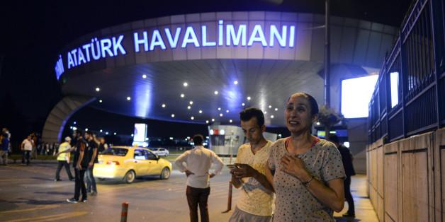 Beim Anschlag auf den Flughafen in Istanbul starben 45 Menschen