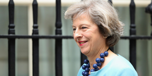 LONDON, ENGLAND - JUNE 27:  Home Secretary Theresa May arrives for a cabinet meeting at Downing Street on June 27, 2016 in London, England. British Prime Minister David Cameron is due to chair an emergency Cabinet meeting this morning, after Britain voted to leave the European Union. Chancellor George Osborne spoke at a press conference ahead of the start of financial trading and outlining how the Government will 'protect the national interest' after the UK voted to leave the EU.  (Photo by Dan
