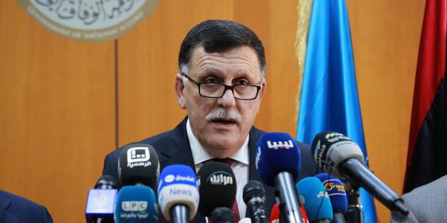 Le Premier ministre désigné et homme d'affaires tripolitain Fayez al-Sarraj